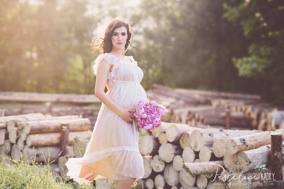 fotografia ciążowa karków