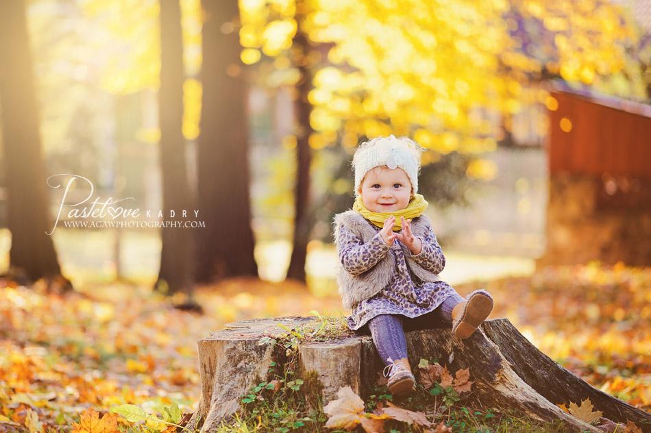 jesienna sesja fotograficzna