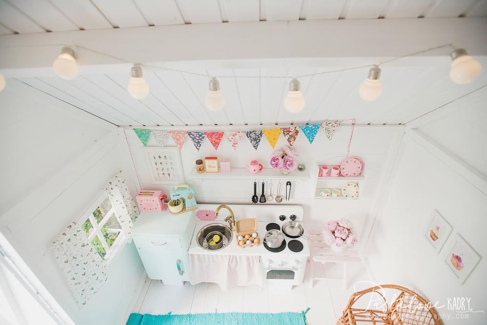 pastelowy domek dla dzieci