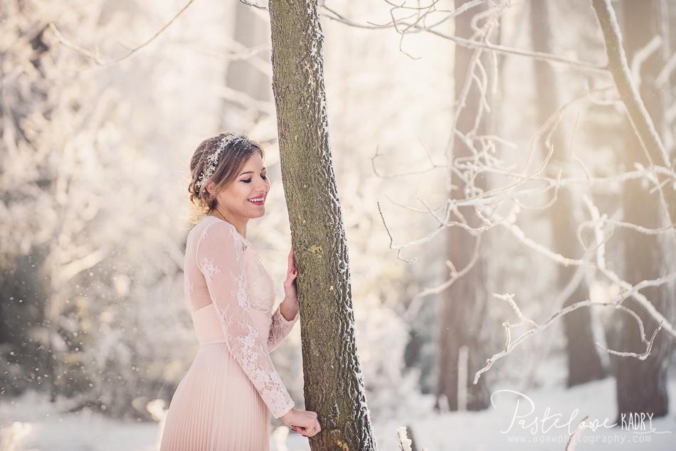 zimowe plenery ślubne