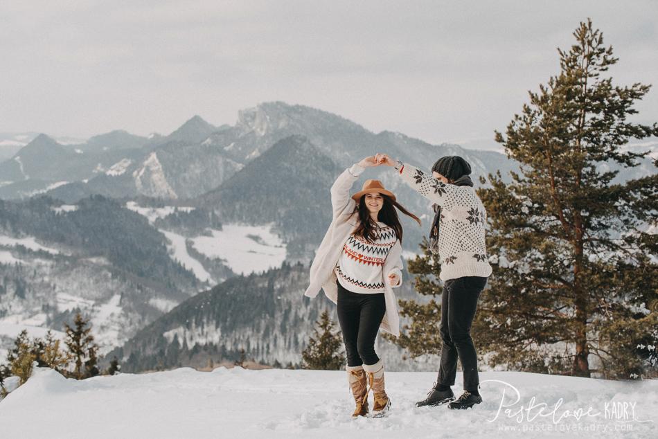 sesja w gorach