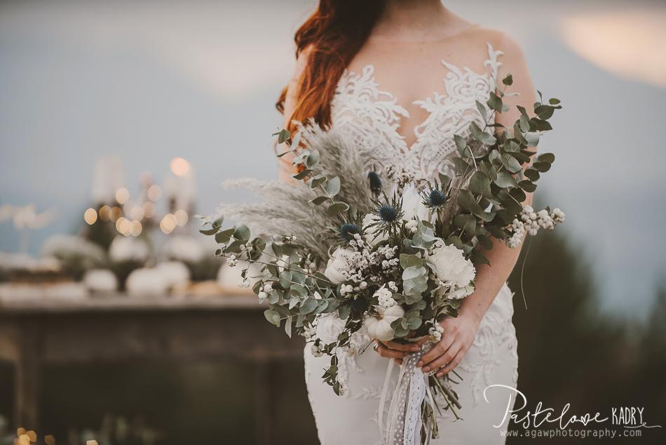 wedding boho flowers