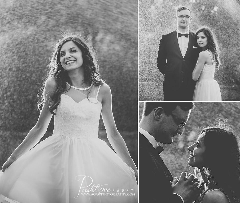 zdjęcia ślubne deszcz