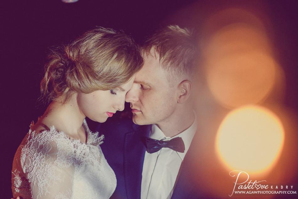 sesja ślubna noc