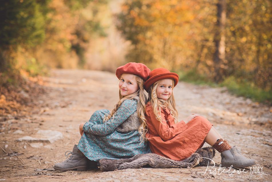 jesienna sesja sióstr