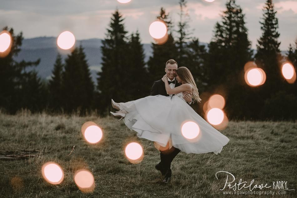 magiczna sesja ślubna