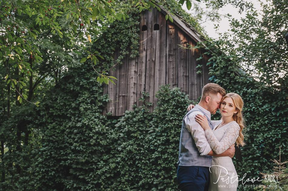 sesja ślubna stylizowana