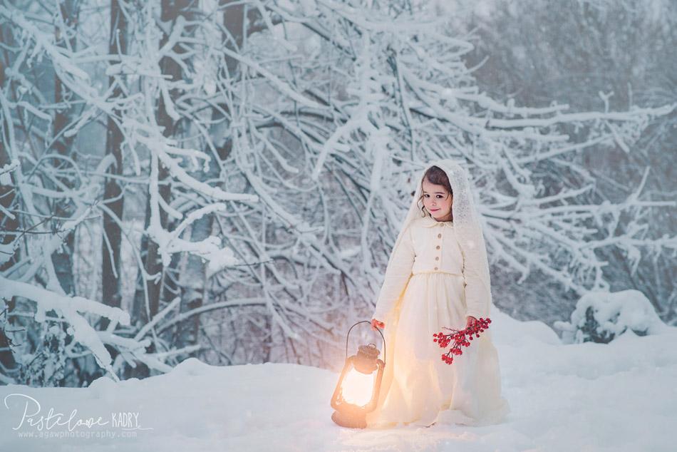 zimowy plener