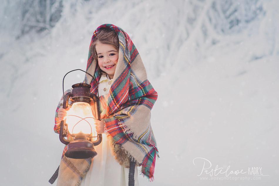 zima zdjęcia dzieci