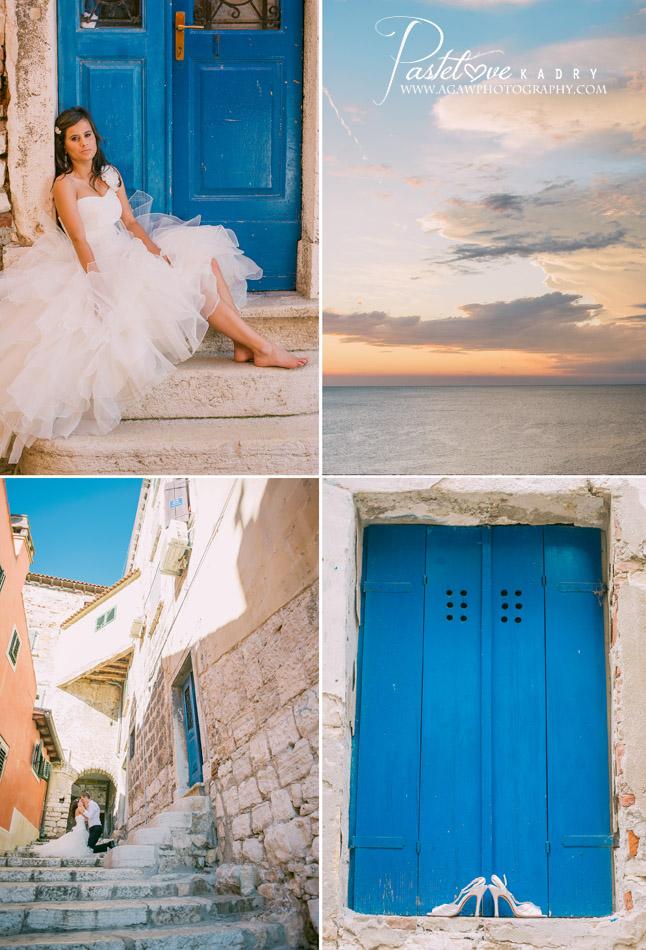 plener ślubny Chorwacja
