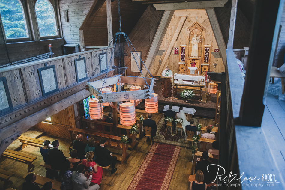 ślub w kościele ojców bernardynów