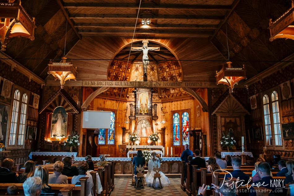 kościół na ślub zakopane
