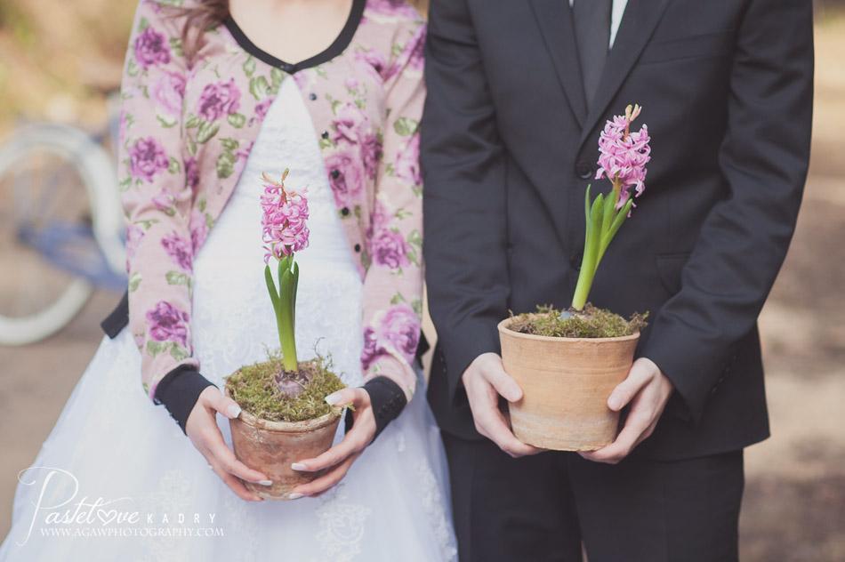 plener ślubny wiosna