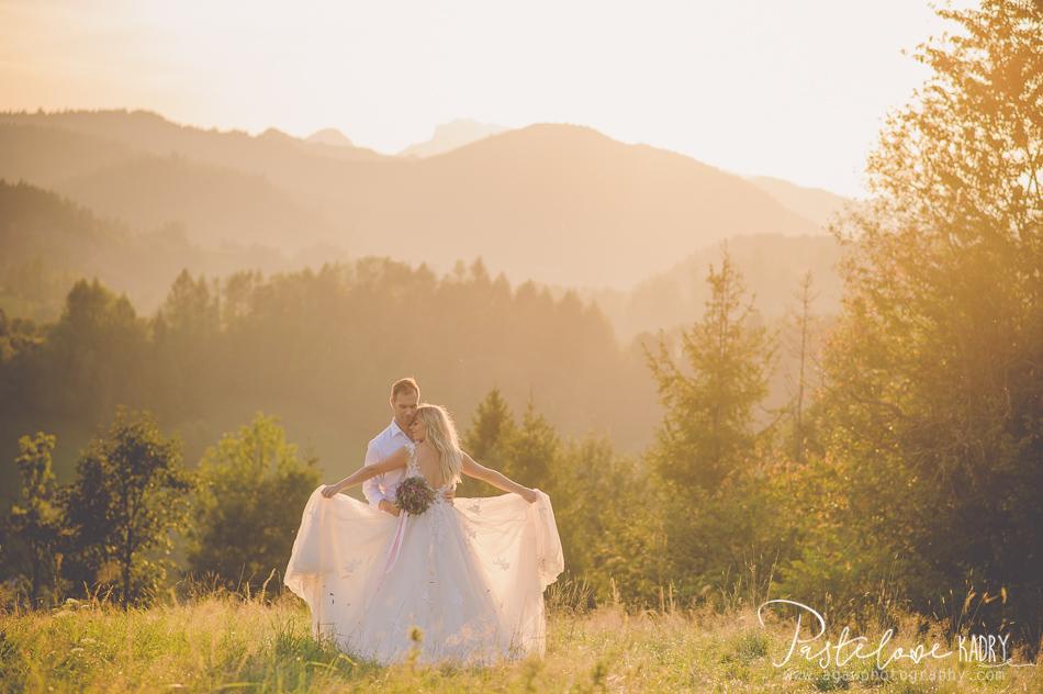 Pieniny fotografia ślubna