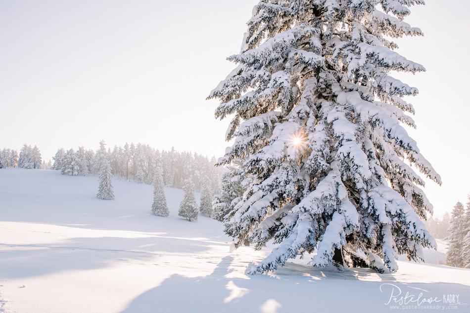 Pieniny zima