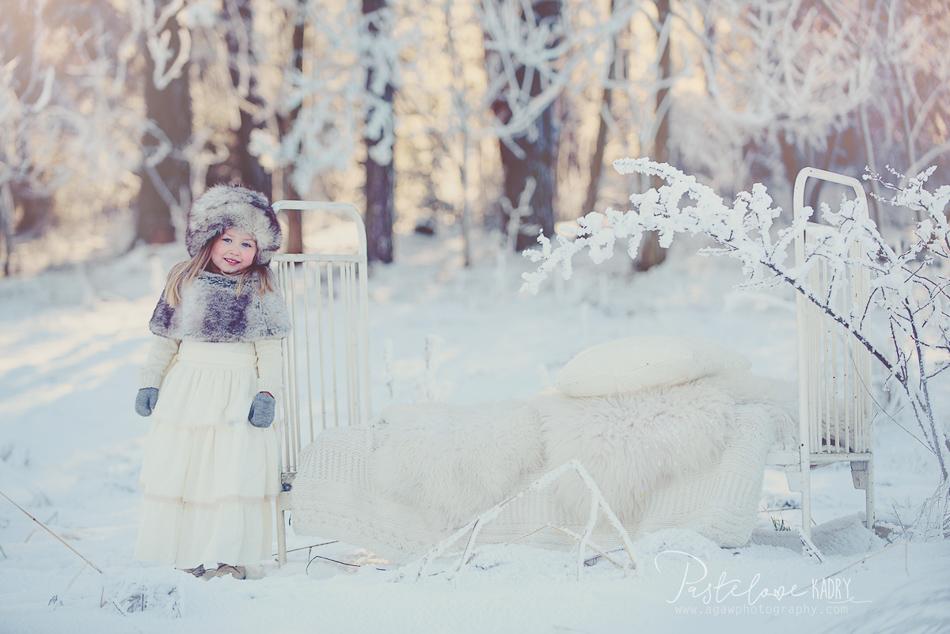sesja śnieg
